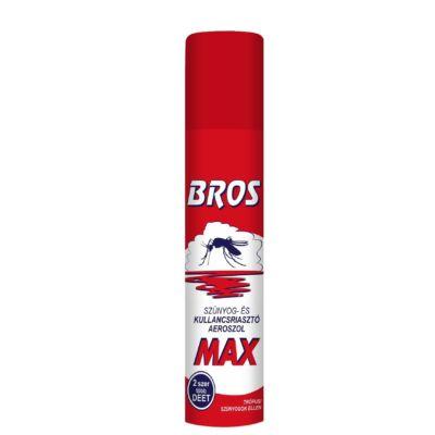 BROS Szúnyog- és kullancsriasztó aeroszol MAX
