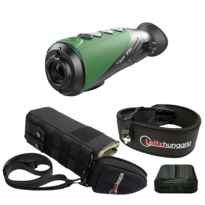 InfiRay X-Eye E3n hőkamera okos szett (tok, nyakpánt, csavar, powerbank 10 Ah)