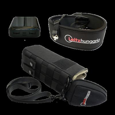 Hőkamera kiegészítő okos csomag (tok, nyakpánt, csavar, 10Ah powerbank)