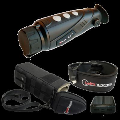 InfiRay X-Eye E6 PRO V2.0 hőkamera okos szett (tok, nyakpánt, csavar, powerbank 10 Ah)