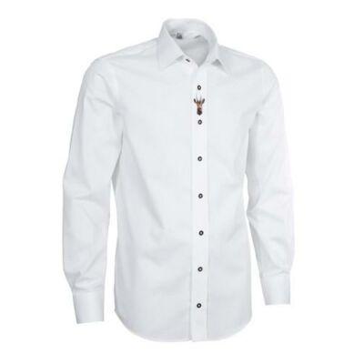 Fehér hímzett alkalmi ing